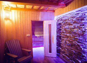 sauna chalupa levandule