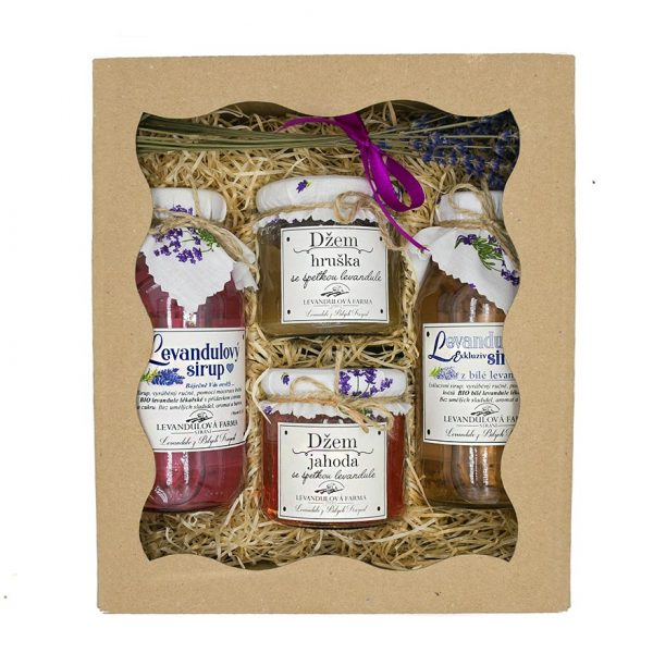 Voňavý balíček z levandulové farmy