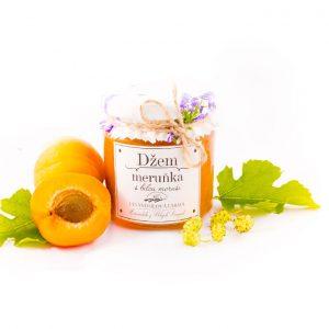 Džem meruňka s bílou moruší